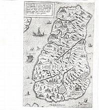 Antonio LaFreri, fl.1540-1577, Rome  Hibernia Sive Irlanda  This ex