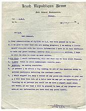 CIVIL WAR  A collection of thirteen original military communications fr