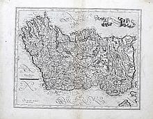 Gerard Mercator, 1512-1594  Utoniae Orientalis Par and Udronie Irelandi
