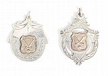 GAA MEDALS  Two Tipperary Hurling Championship medals, 1957 & 1958, sil