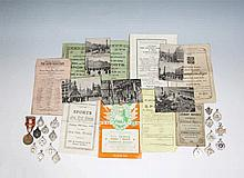 A collection of 18 sporting medals dating from the 1940s,  together with a