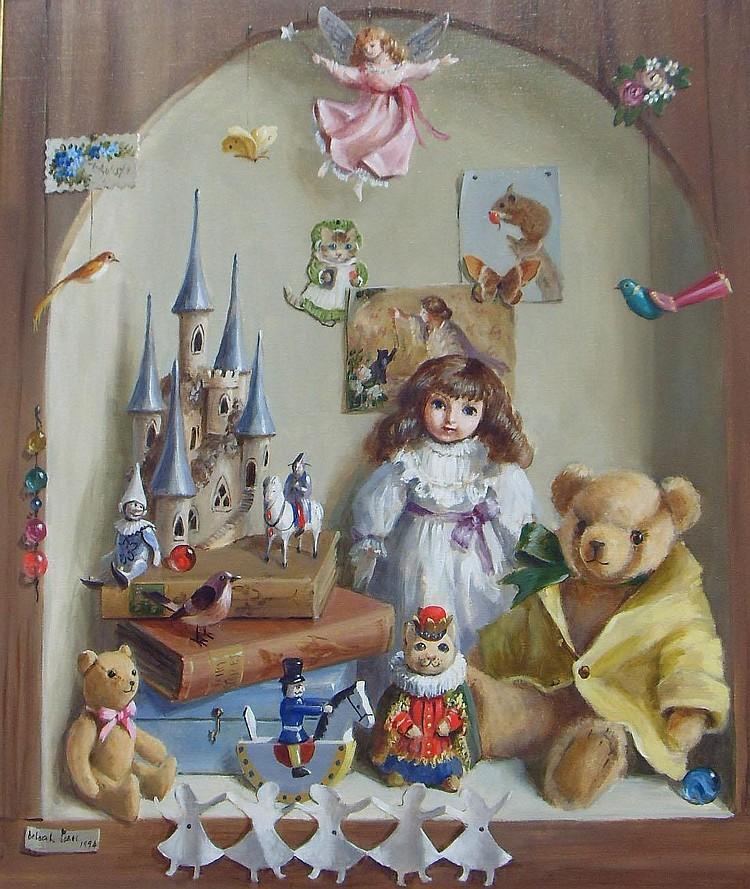 Deborah Jones (born 1922); oil on canvas