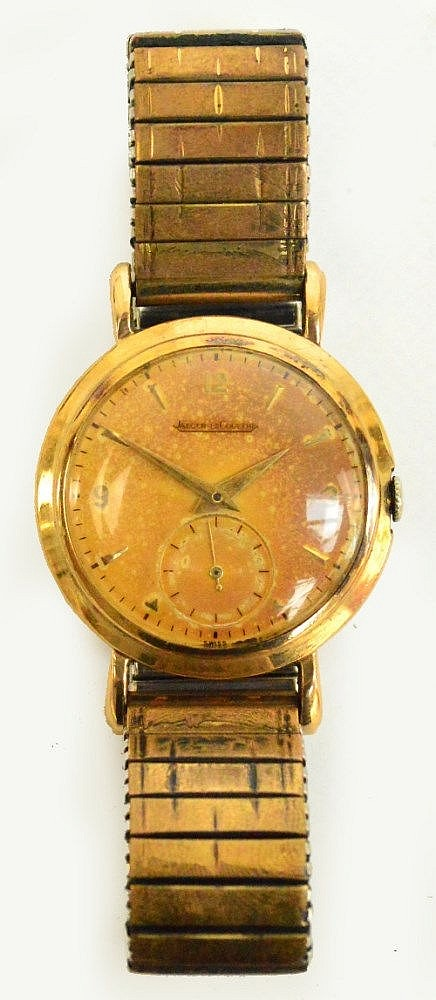 A 1950's 9ct gold cased gentleman's Jaeger