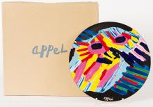 Big Head, Ceramic Plate after Karel Appel