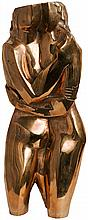 Intimité by Zadkine, bronze in 4 copies only