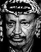 Iconic Portrait of Nobel Peace Prize Winner Yasser Arafat