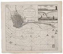 Fine map of Enkhuizen