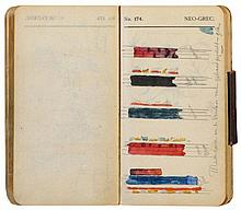 Original notebook of the architect Pierre Cuypers with sketches