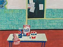 Still life in canteen, 1969