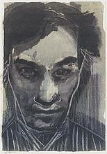 Jan Hoet in memoriam card by Marlene Dumas