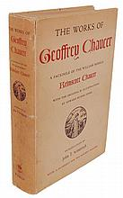 Chaucer; William Morris.  The Works of Geoffrey Chaucer.  A Facsimile of the Kelmscott Chaucer