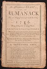 Ames, Nathaniel.  An Astronomical Diary:  or An Almanack for...1756