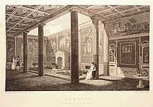 Gell; Gandy, J.P.  Pompeii. Its Destruction and Re-Discovery with Engravings and Descriptions....