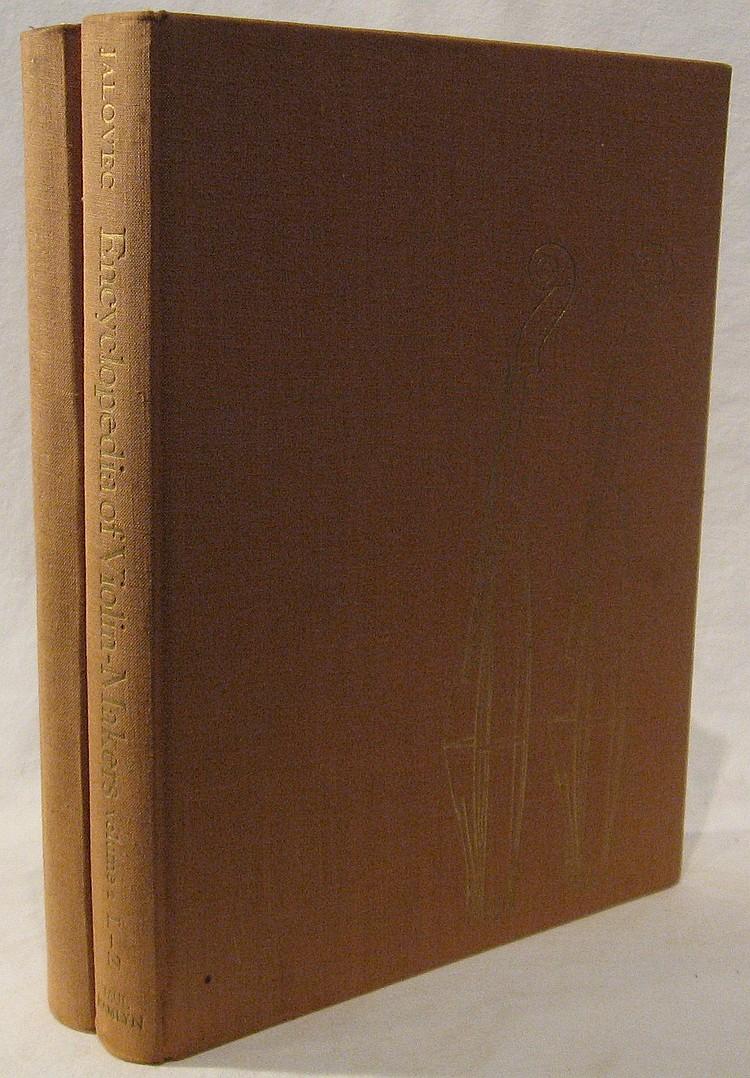Jalovec, Karel. Encyclopedia of Violin-Makers.