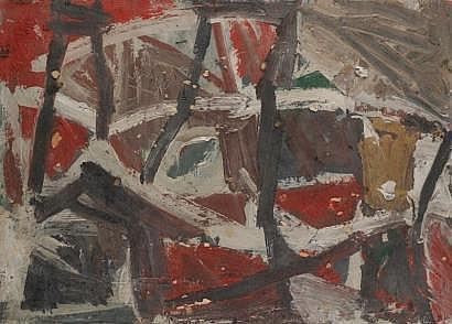 Fermin AGUAYO [espagnol] (1926-1977) Composicion