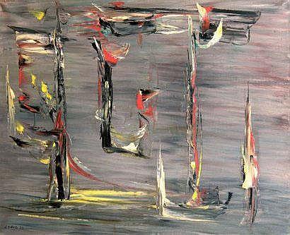 Fernand LEDUC (canadien né en 1916) Composition