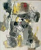Jun DOBAShI (1910-1975) Composition abstraite, Jun Dobashi, Click for value
