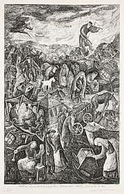 Chaïm GOLDBERG (1917-2004) Quatre gravures