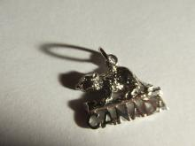 Sterling Silver Canada Beaver Charm