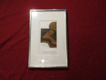 Mother & Child II 71/100 Print Mathias Muleme 179 Silver Fame Very Nice