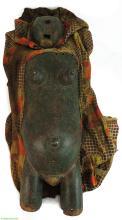 Yoruba Body Mask Female Torso with Face and Costume Nigeria Africa
