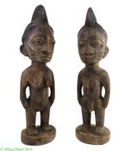Yoruba Ibeji Twin Figures Nigeria Africa