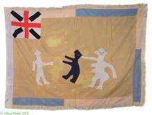 Fante Asafo Flag Appliqued Frankaa Ghana Africa
