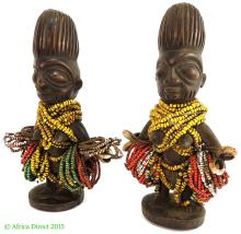 Yoruba Twin Figures Ere Ibeji  Females Nigeria Africa Superb