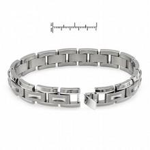 Titanium and Stainless Steel Bracelet