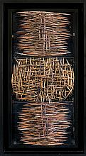 Nowosielski  Leszek  - ABSTRACTION CERAMIC, 80S TWENTIETH CENTURY, own technique