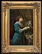 Plagemann Anna Augusta - EXPECTED LETTER, 1887, oil, canvas