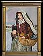 Hofman Vlastimil - TO THE VILLAGE MARKET. CARRYING HENS, 1923, oil, cardboard