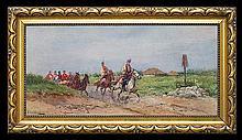 Setkowicz Adam - CRACOW WEDDING, oil, canvas