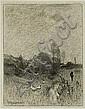 Kochanowski Roman    LANDSCAPE, crayon, watercolor, gouache