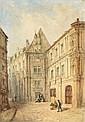 GEORGES (fin du XIXe) Vue de la Chancellerie à