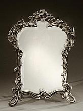 Louis MAJORELLE (1859-1926)  et VICTOR SAGLIER (XIX-XXème)  Rare miroir