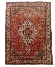 Hand Woven Persian Tabriz Room Size Rug
