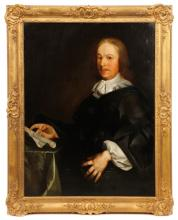 Continental Portrait Of A Scholarly Gentleman