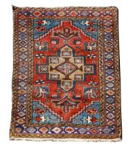 Small Hand Persian Woven Area Rug