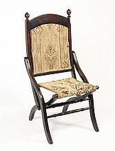 Civil War Era Officer's Folding Camp Chair, 1860s