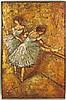 After Degas' Dancers, Brutalist Mixed Media Art, Edgar Degas, $150
