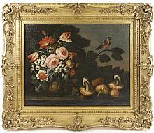 18th C. Continental Old Master Style Still Life