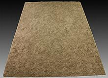 Contemporary Large Gray Shag Rug 16 x 12
