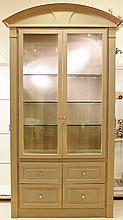 Large Contemporary Storage Cabinet with Arched Top