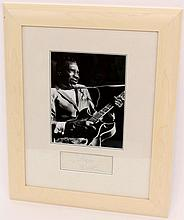 T-Bone Walker Photo & Autograph