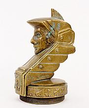 Pierre de Soete Bronze Hood Ornament