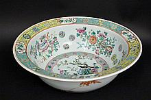 19th C. Chinese Famille Rose Bowl