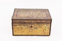Oriental Lidded Tea Caddy
