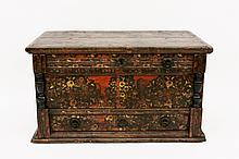 Antique Northern European Trunk