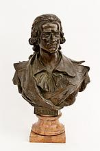 Bronze Bust of Friedrich Schiller